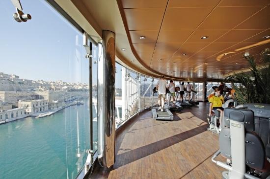 MSC Splendida, fitness center - 01