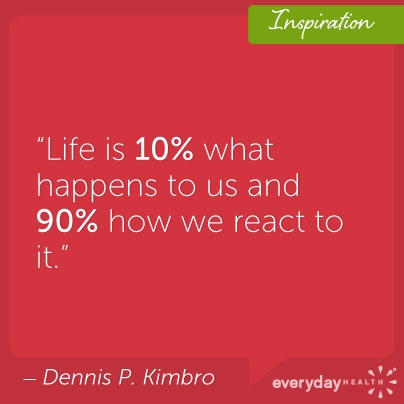 How are you reacting to your day?