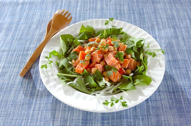ダイエットや遅い夕食にそれだけでメインのボリュームたっぷりおかずサラダレシピ