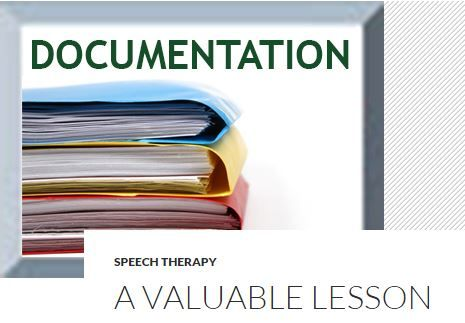 Professional Development Corner: Documentation – A Valuable Lesson - pinned by @PediaStaff – Please Visit ht.ly/63sNtfor all our ped therapy, school & special ed pins