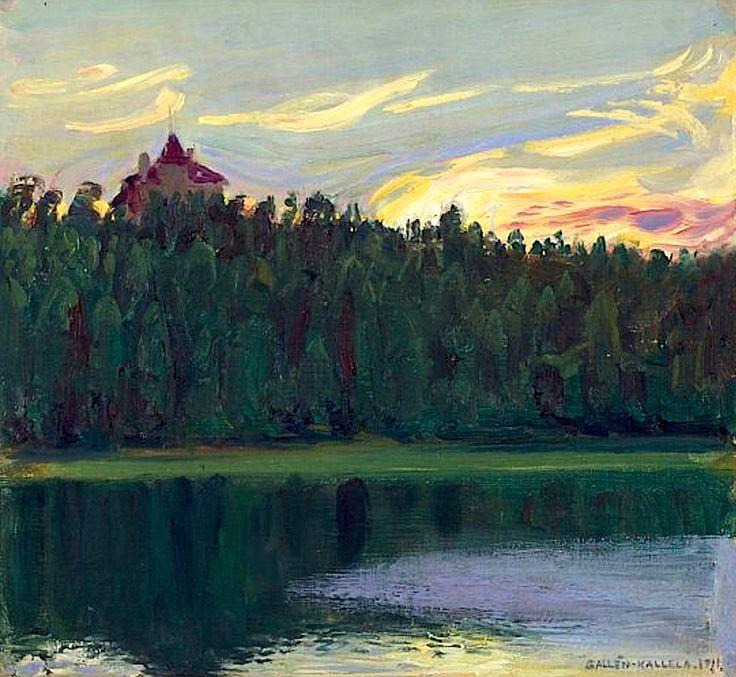 Akseli Gallen-Kallela, Järvimaisema 1911