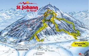 St-Johann-Ski-Map