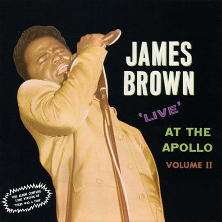 James Brown - Live at the Apollo Vol. II: Half Speed Master Limited Edition 180g Import Vinyl 3LP December 2 2016 Pre-order