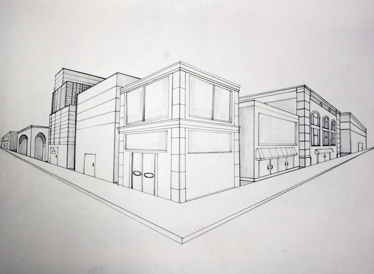 Perspective Drawings Of Buildings learn the basics of perspective drawing in this free class