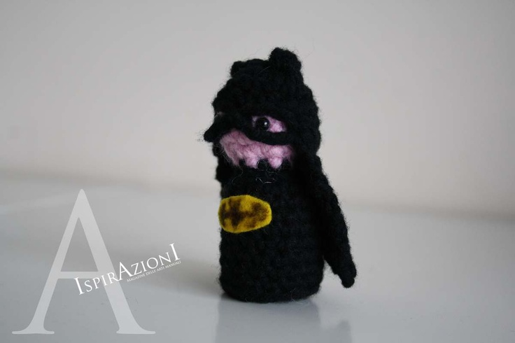 IspirAzionI magazine - Batman amigurumi