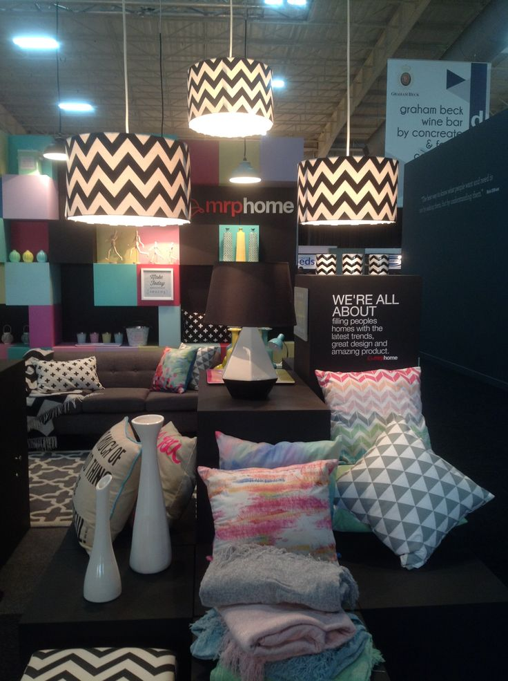 We loved the Mr Price Home stand with its graphic patterns and pops of vibrant colour.