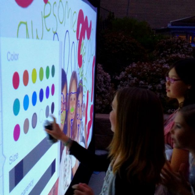 Interactive Photo Graffiti Wall for weddings, bar/bat mitzvahs, and corporate events.