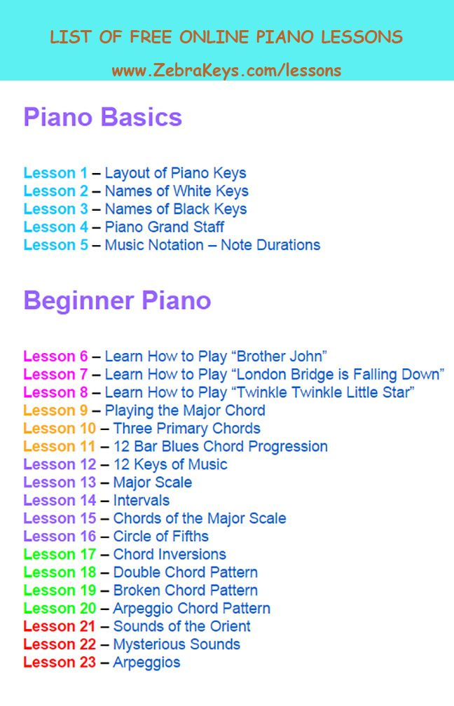 Learn Songs for Beginners  Zebra Keys
