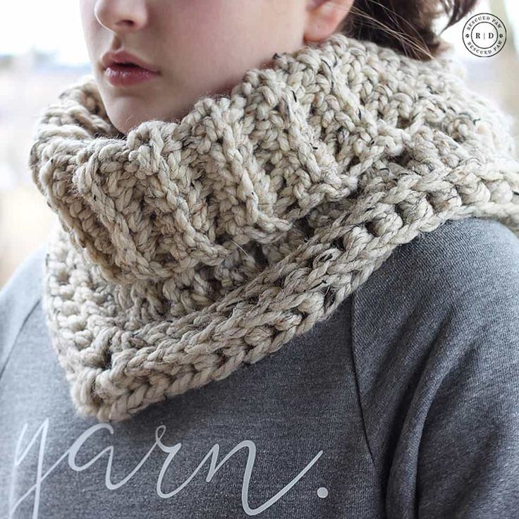 Cara Cowl - Crochet Pattern by Rescued Paw Designs