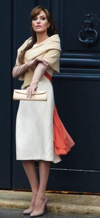 classic costuming-The Tourist.