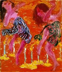 Candle Dancers - Emil Nolde