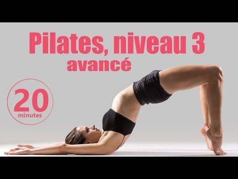 Pilates Niveau 3 avancé - Cours Fitness complet - YouTube