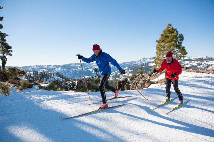 """How Old Is """"Too Old"""" To Start Skiing Or Snowboarding?     Your never too old to learn a new sport!  http://blog.liftopia.com/too-to-old-start-skiing-or-snowboarding/"""