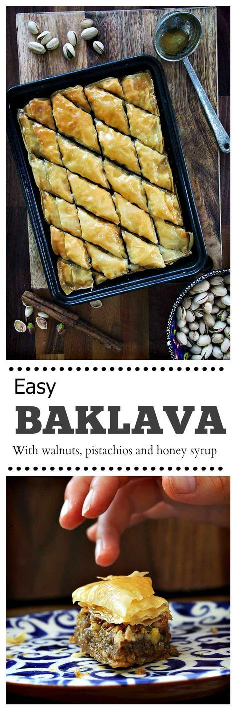 Easy Baklava   drizzld.com