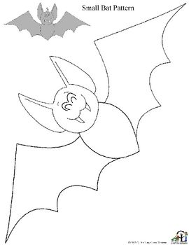 Free Small bat pattern printable