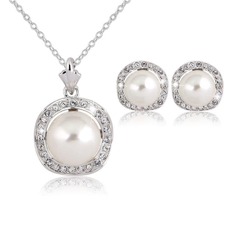 Joyeria ensembles parure bijoux mariage indien bijoux colar feminino en acier inoxydable cristal autrichien de mariée ensemble de bijoux pour le désherbage