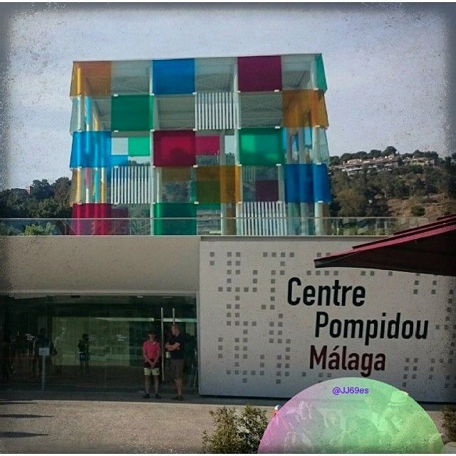 #Malaga #arte #museo #pompidou #malagaenfotos #candyminimal #pixlrcontest