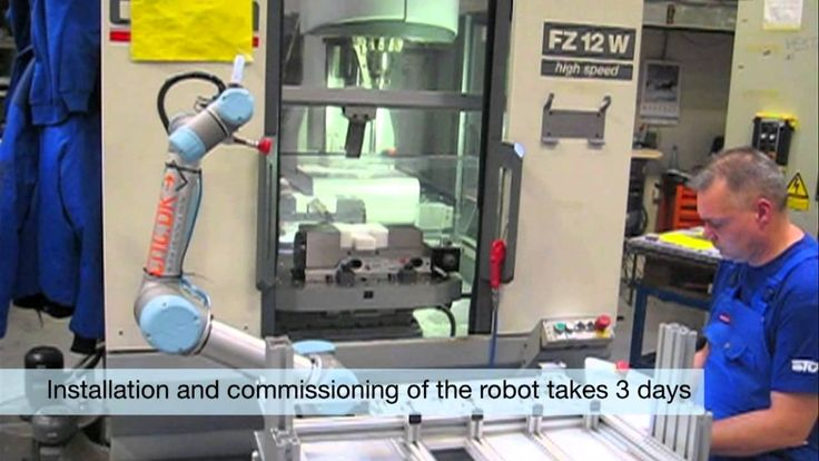 UR5 robot increased productivity by 35 percent