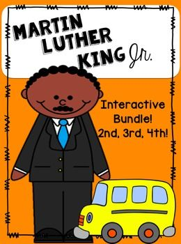 Great interactive bundle!  Perfect for Matin Luther King Day!! Lexiled close reads!