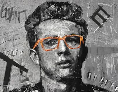 """Check out new work on my @Behance portfolio: """"James Dean"""" http://be.net/gallery/31870567/James-Dean"""