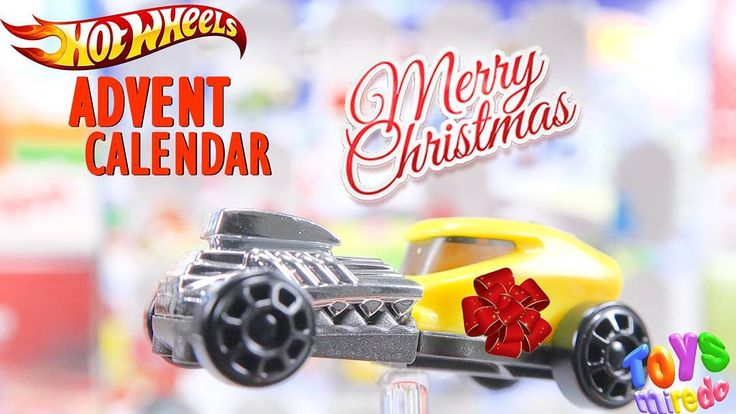 Yellow Hot Wheels car from Kinder advent calendar @ToysMiredo on #youtube  #surpriseeggs #youtubekids #kindereggs