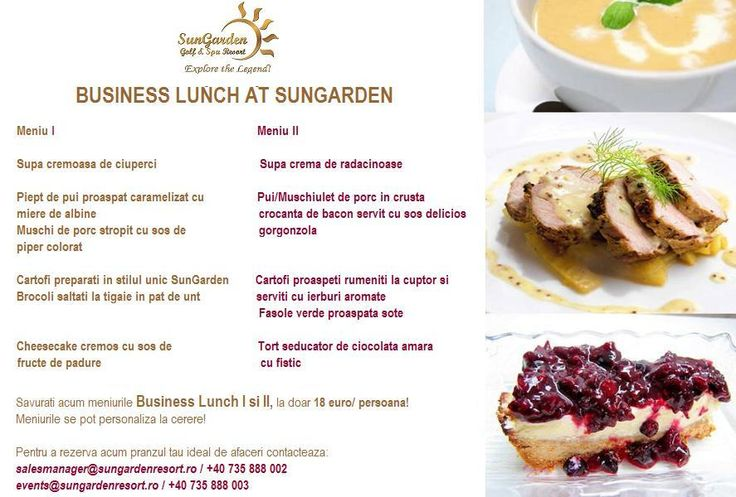 After a delicious lunch/ dinner anyone closes the greatest business deals!  https://www.facebook.com/SunGardenResort