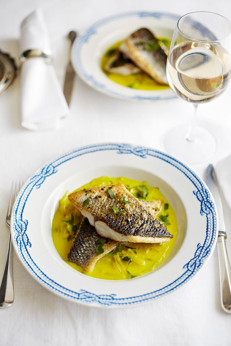 Atul Kochhar's vibrant and flavourful curry uses crisped sea bass and fragrant spices to create a beautiful main meal.