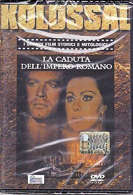 Dvd **LA CADUTA DELL'IMPERO ROMANO** con Sophia Loren nuovo 1964