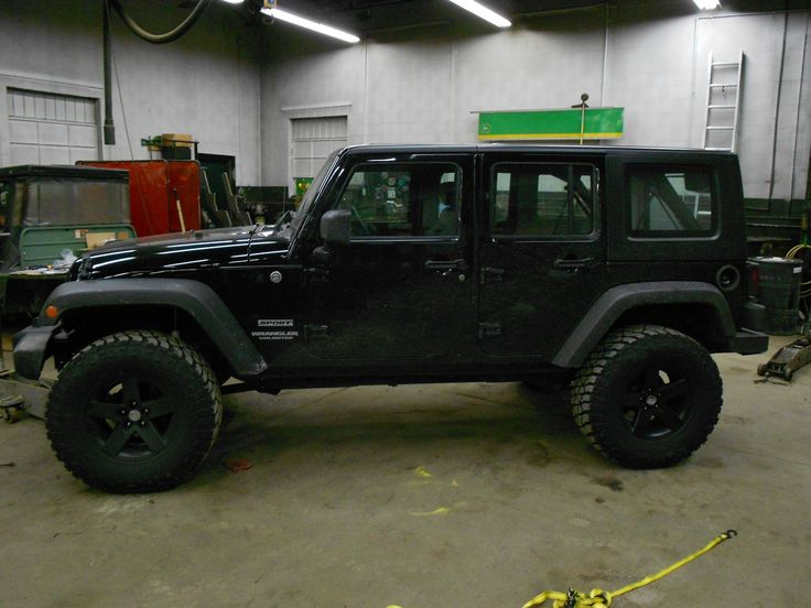 super popular 7d3f1 ca4fa Plastidip ALL Black Everything - need these rims! jeep unlimited Jeep  Wrangler . ...