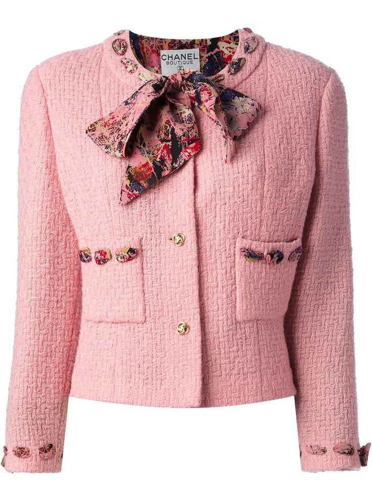 Chanel Vintage костюм из пиджака и юбки