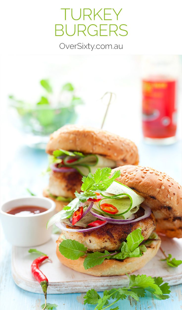 Actually Delicious Turkey Burgers Recipe — Dishmaps