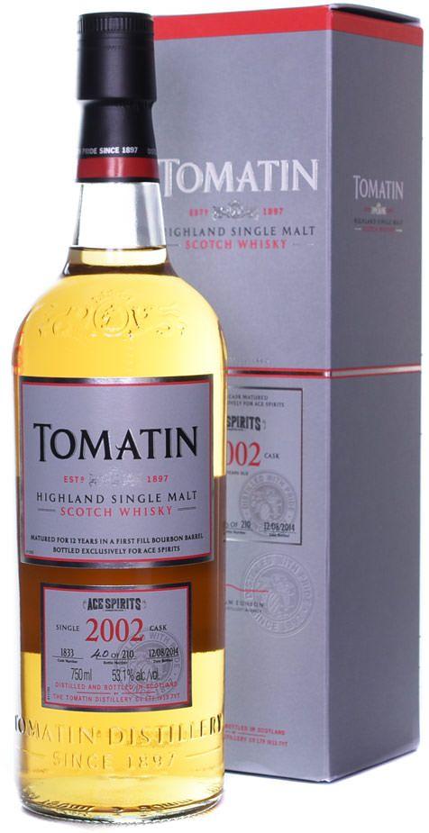 Review #348: Tomatin 12 Single Cask (2002 Ace Spirits Store Pick) http://ift.tt/2yLSZMI
