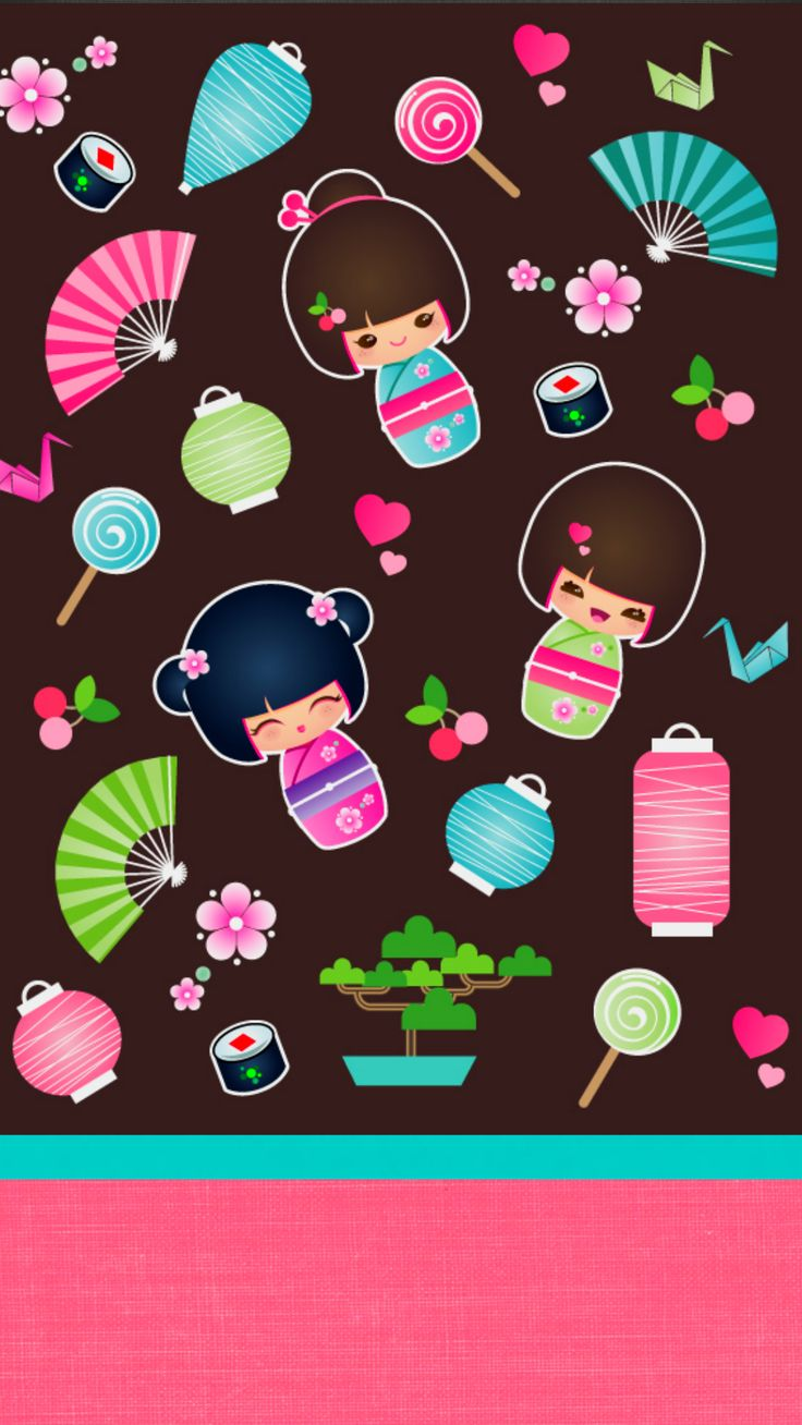 Cuteness find more kawaii wallpapers for your iphone - Kawaii phone backgrounds ...