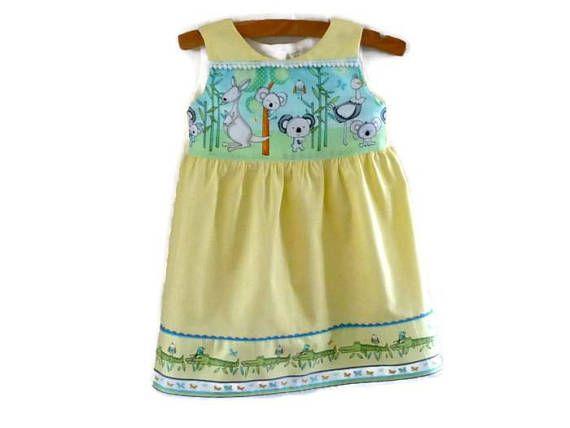 Dress for 2 year old girl  australia day dress  toddler