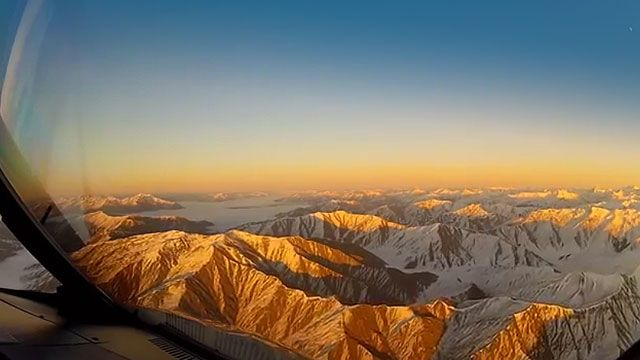 Sometimes what a pilot sees in a day, people won't see in their lifetimes. New Zealand has some truly amazing scenery.