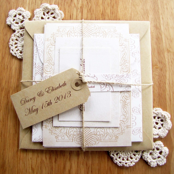 Sutherland Design's Traditional Themed Vintage Wedding Package