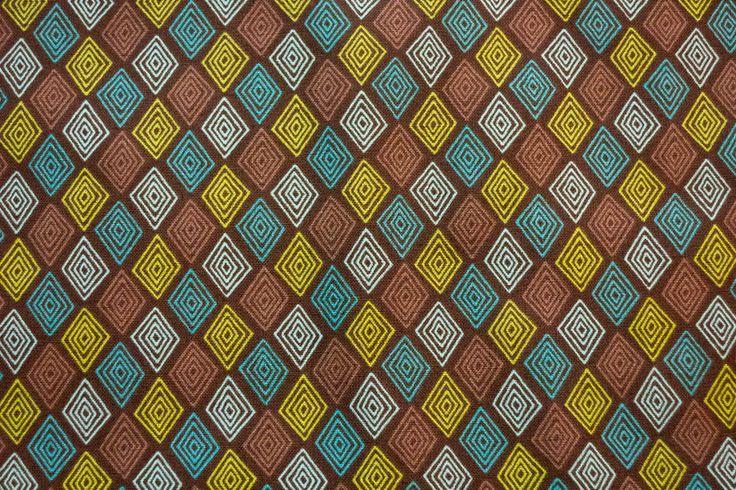 Stoff Rhomben | www.pom-pon.ch