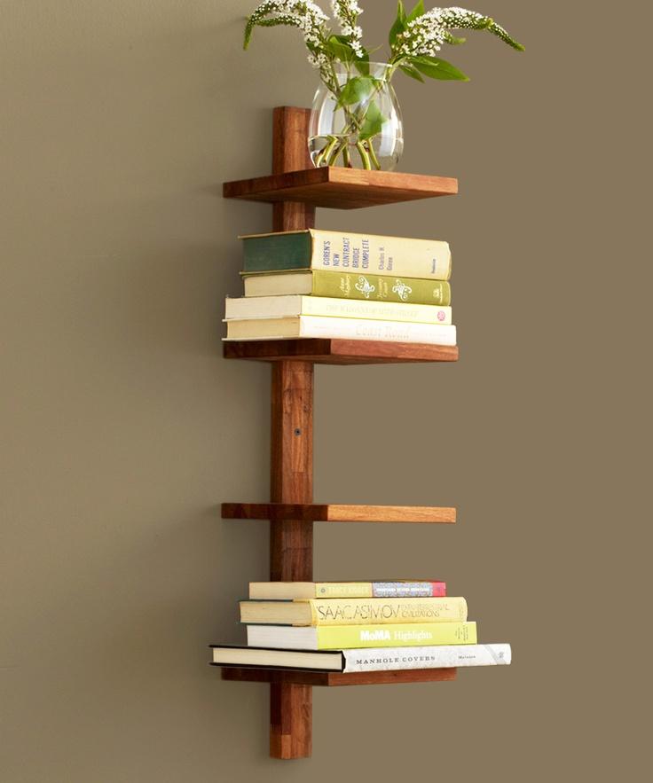 Modern Column Shelf at dotandbo.com