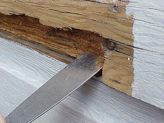 Siding Repairs: Wood Siding Repair Putty