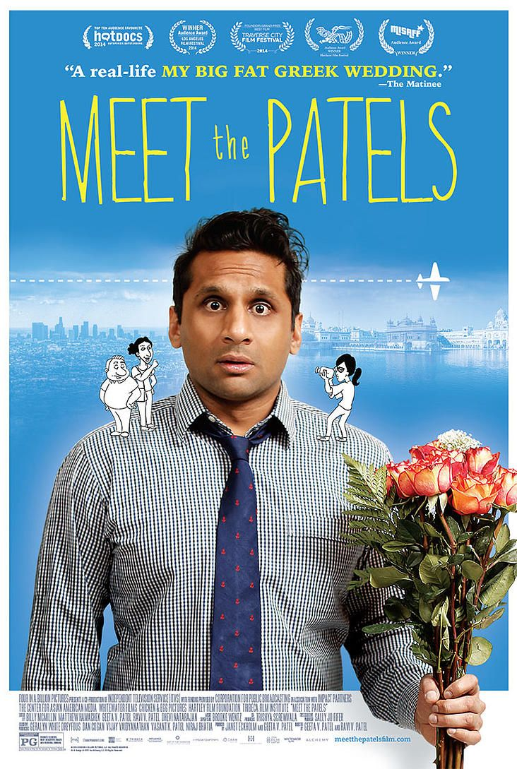 Meet The Patels (2015) - Excellent documentary/movie about finding the right (