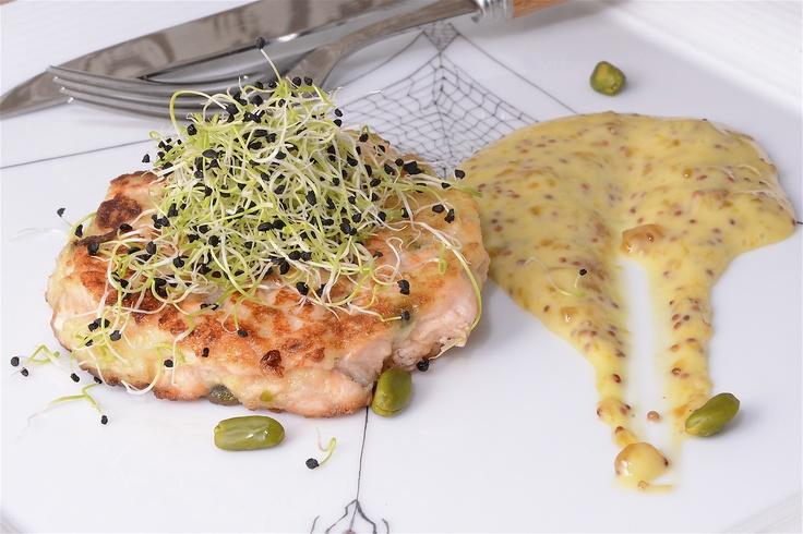 Hamburguesa de salm n con pistachos for Diana cabrera canal cocina