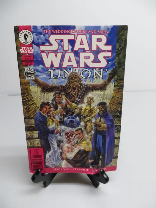 Stars Wars Union Comic The Wedding of Luke and Mara Dark Horse Comics
