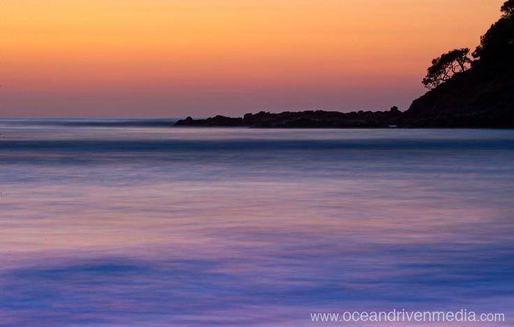 Beautiful sunrise in the Transkei