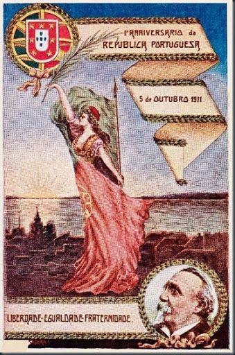 Restos de Colecção: I Aniversário da República Portuguesa