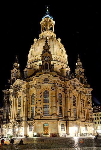 ♔ Frauenkirche Dresden, Germany