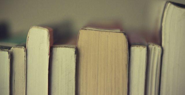 Libros ordenados.
