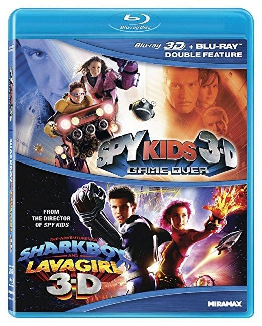 Antonio Banderas & Ricardo Montalban - Spy Kids 3-D: Game Over / Adventures of Sharkboy