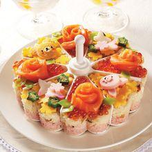 Strumenti di Sushi Stampi Creativo Al Forno Gelatina Budino Melaleuca Riso E Rotolo di Verdure Die U6830(China (Mainland))