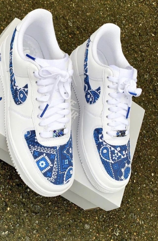 Pin by DemoniacoDiablo on Crip Shit in 2021 | Nike air force ...