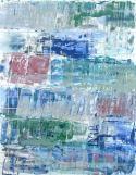 Monroe Hodder | Other World IX | Watercolour & Oil Monotype | 30 x 25 inches | £2,500